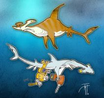 Hamma Sharks..Shark Week 03 by elasticdragon