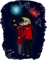 happy new year! by queenofdavekat