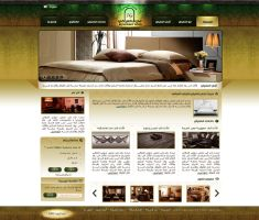 Furniture Website Design Op2 by ahmedelzahra