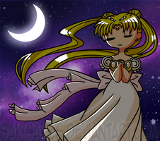 What time is it?! Sailor Moon time! by SakiCakes