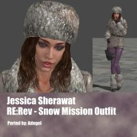 Jessica Sherawat RE:Rev Snow Mission Outfit by Adngel