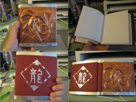 handmade sketchbook by ViTong4