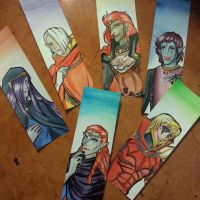 Zelda Bookmarks by HisBelovedPrincess