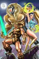Thundarr The Barbarian by alfret