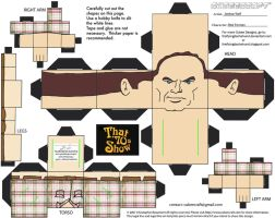 70s Show1: Red Forman Cubee by TheFlyingDachshund