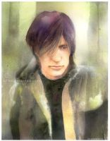 Trent Reznor by luciole