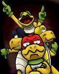 Here Come the Koopa Bros. by Aura-Cat