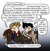 SPN: Squidgey Together by blackbirdrose