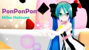 PonPonPon - Youtube (Camera DL!!) by shanaachan