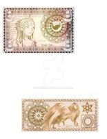 Currency Designs by SteeKira