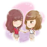 TaeNy together High Cut Sport outfits by mewzim