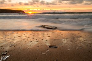 Treyarnon bay by GraphicalHD