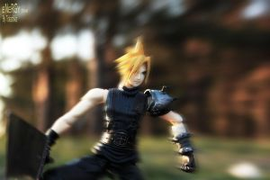 Cloud in Action by NightNike