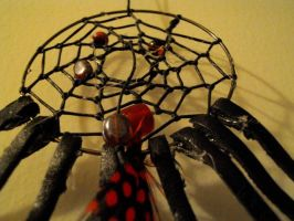 Black Widow Nightmare-catcher by Lyrak