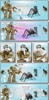 The Spider's From Mars by XavUK
