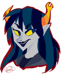 Vriska is the bae by SeiraAxis002