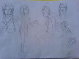 sketchies by Colike