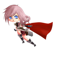 request: Lightning Chibi by chorzank