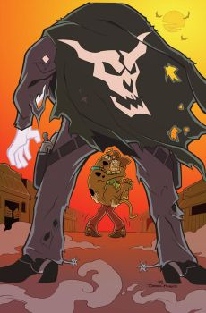 SCOOBY-DOO The Good, The Bad, And The Ghostly by dfridolfs