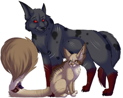Size comparison chart by Shadi-Carcer