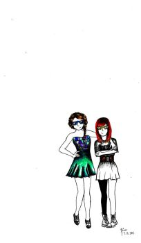 Taylor and Hayley, 1 by IanBrooks313