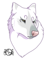 Ghastly headshot commission by CreatureCreatingBabe