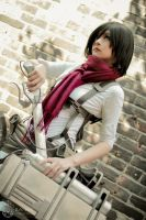 Attack on Titan - Mikasa by Ranmaru-Mori