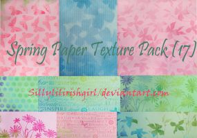 Spring Paper Texture Pack by Sillylilirishgirl