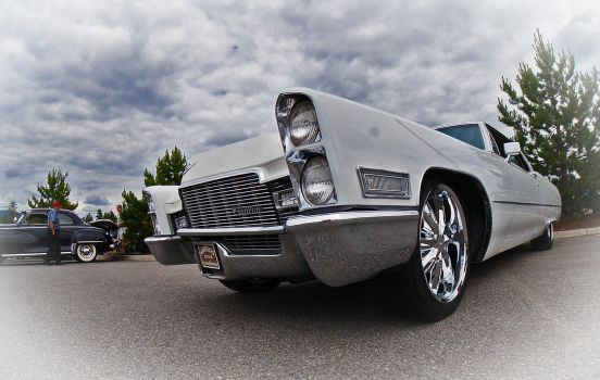 White Caddy by tundra-timmy
