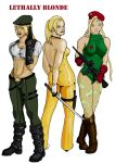 Lethally Blonde - Sonya, Nina and Cammy by argeiphontes