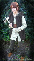 Hiccup cosplay by Mari-Kyomo