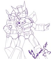 TF Slash - Prowl Bond x Jazz by plantman-exe