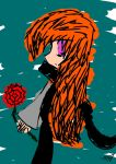 A Rose Scribble by Invader-Roxas