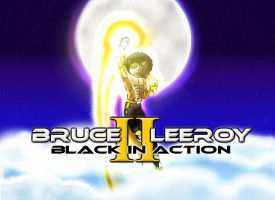 Bruce Leeroy 2 Black in Action by Blucaracal