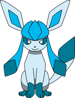Glaceon Sitting PNG by ProteusIII