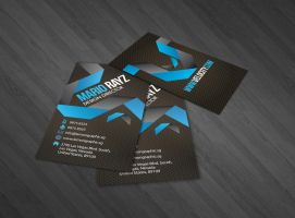 Velocity business card by Lemongraphic