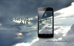 G-Nexus Air Lockscreen by ChubbsMcBeef