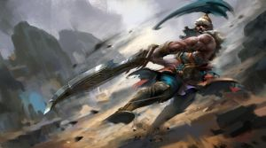 Tryndamere by zippo514