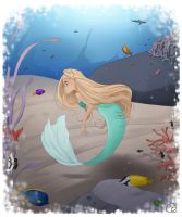 the little mermaid by ChiaraCi