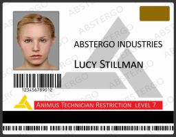 Lucy Stillman Employee ID Card by Haddrian