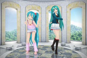 {MMD} PDF 2nd Miku Pack {DL} by HarukaSakurai