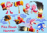 Amy's Piko Rowsh Hammer by The-Quill-Warrior