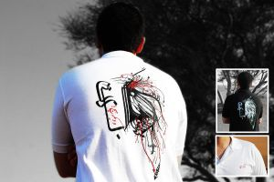 Persian Calligraphy T-Shirt's by Avinar
