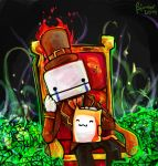 Battleblock Hatty Hattington by SimonTheFox1