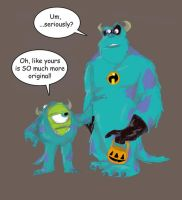 Pixar Halloween by pixarjunkie