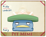 Pet Meme- Rudy by Fire-Girl872