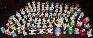 My Dalmatian Figures Collection by TamerOfAstamon