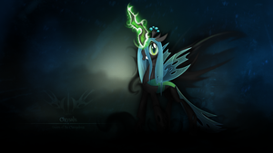 Queen of the Changelings by Bardiel83