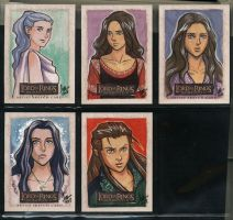 LOTR Masterpieces II 252-256 by aimo