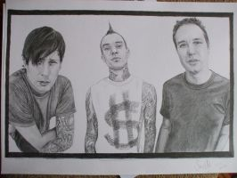 Blink 182 drawing by SusHi182